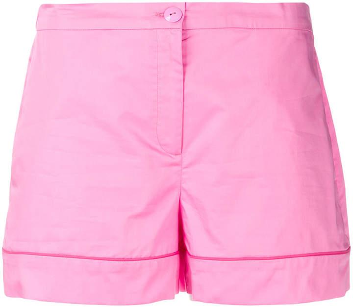 turn-up hem shorts
