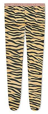 Gucci Women's Animal Striped Tights