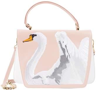 Giancarlo Petriglia Pink Leather Handbag