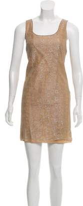Magaschoni Lace Mini Dress
