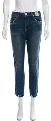 Amo Mid-Rise Stix Crop Jeans w/ Tags