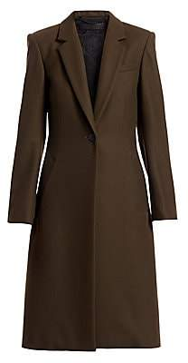 Rag & Bone Women's Daine Stretch Wool Military Coat - Size 0
