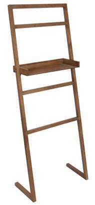 Laurèl Kate and McGrath Decorative Ladder with Display Shelf Brown