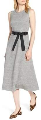 J.Crew Velvet Tie A-Line Dress