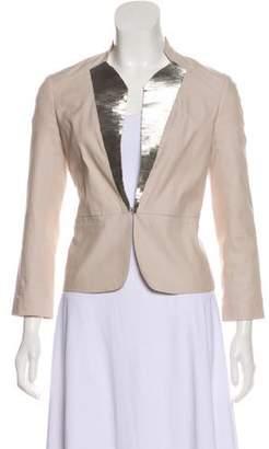 Robert Rodriguez Embellished Long Sleeve Blazer
