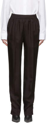 Helmut Lang Brown Twill Lounge Pants