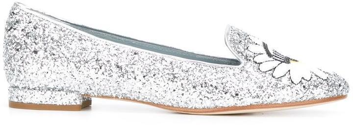 Chiara FerragniChiara Ferragni glitter eyes slippers