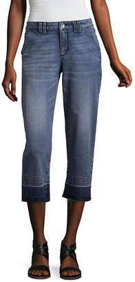 A.N.A Denim Wide Leg Cropped Pants