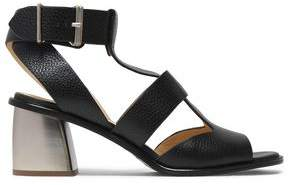Jil Sander Navy Pebbled-leather Sandals