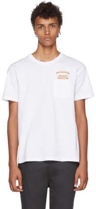 Wacko Maria White Oversized Paradise Guilty Parties Pocket T-Shirt