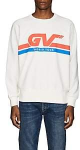 """Givenchy Men's """"World Tour"""" Cotton Sweatshirt-White"""