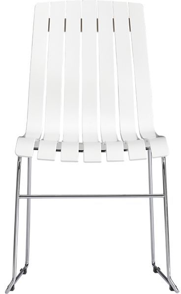 Crate & Barrel Channel Side Chair