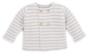 Elegant Baby Baby's Sofia and Finn Cotton Stripe Sweater