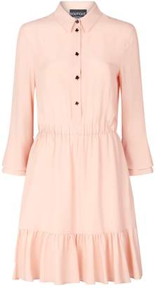 Moschino Ruffled Shirt Dress