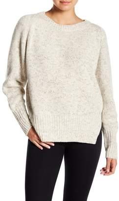 Brochu Walker Pfeifer Marled Knit Cashmere Blend Pullover