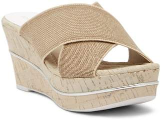 Donald J Pliner Dani Wedge Sandal - Narrow Width Available