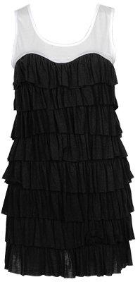 Tiered Ruffle Dress