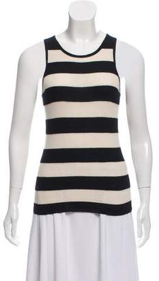 Marc Jacobs Striped Cashmere & Silk Top