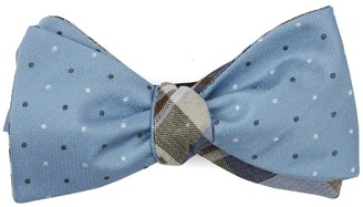The Tie Bar Suited Polka Plaid