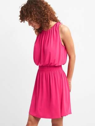 Gap Smocked Waist Halter Dress