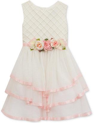 Rare Editions Tiered Skirt Dress, Big Girls (7-16) $84 thestylecure.com