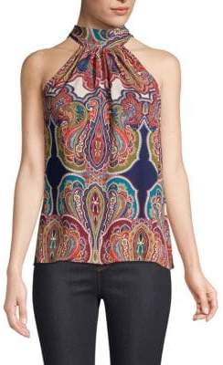 Ramy Brook Paige Silk Halter Top