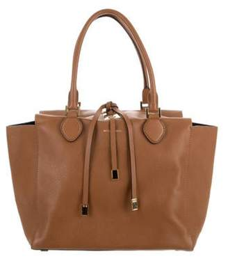 Michael Kors Large Leather Tote Brown Large Leather Tote