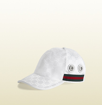 Gucci GG nylon baseball hat