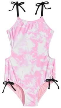 Summer Crush Big Girls 1-Pc. Printed Monokini Swimsuit