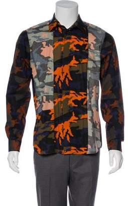 Givenchy Camo Woven Shirt
