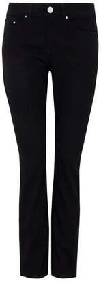Wallis Petite Black Harper Straight Leg Jean