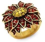 Heidi Daus Poinsettia Ring