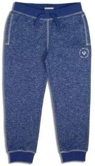 True Religion Little Boy's Marled French Terry Sweatpants