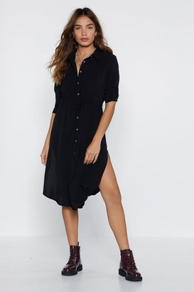 Nasty Gal It Never Shirts to Ask Shirt Dress