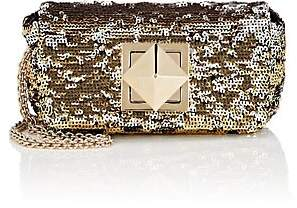 Sonia Rykiel Women's Le Copain Small Sequined Chain Shoulder Bag - Gold