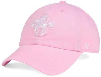 '47 Brand Women's Philadelphia 76ers Petal Pink CLEAN UP Cap $27.99 thestylecure.com