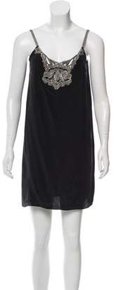 Stella McCartney Embellished Sleeveless Dress