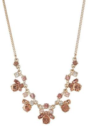 Givenchy Blush Crystal Frontal Necklace