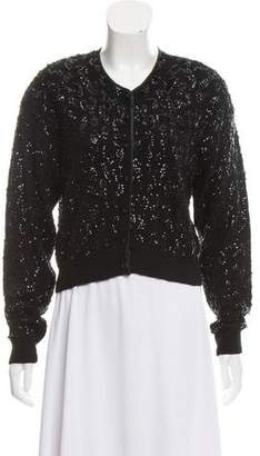 Christian Dior Wool Embellished Cardigan