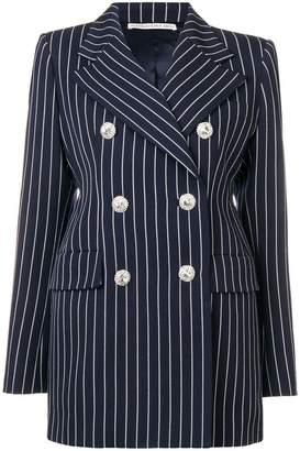 Alessandra Rich pinstriped blazer