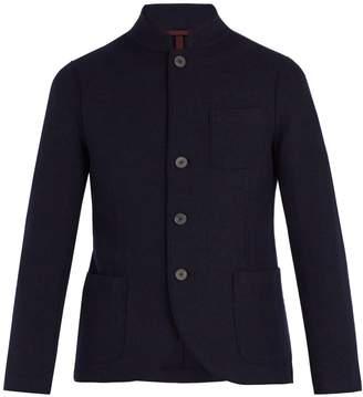 Harris Wharf London Stand-collar virgin-wool jacket