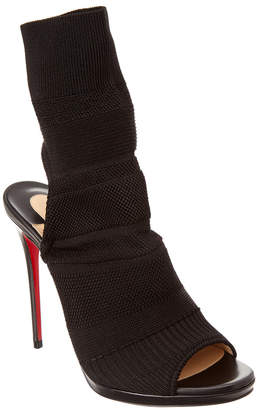 Christian Louboutin Cheminene 120 Stretch-Knit Ankle Boot