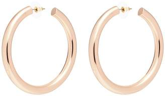 Kenneth Jay Lane 60mm hoop earrings