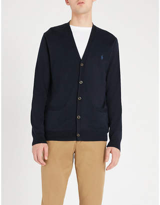 Polo Ralph Lauren Logo-embroidered cotton cardigan