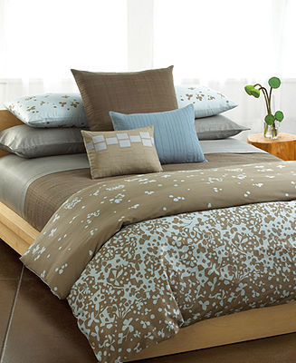 Calvin Klein Bedding, Cut Flowers Comforter and Duvet Cover Sets