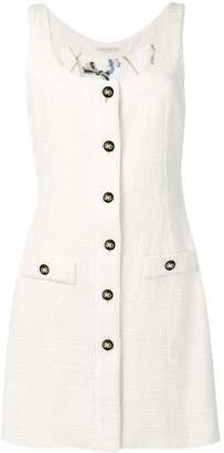 Alessandra Rich sleeveless tweed dress