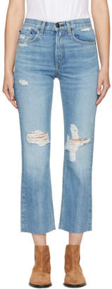 Rag & Bone Blue Straight Jeans