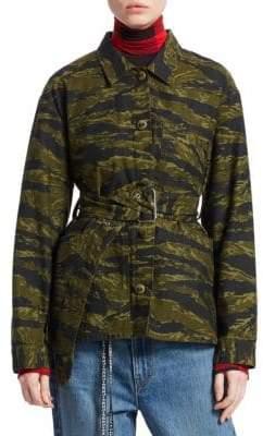 Proenza Schouler PSWL Camo Belted Jacket