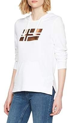 Napapijri Women's Bacau Sweatshirt, (Bright White 002), Large
