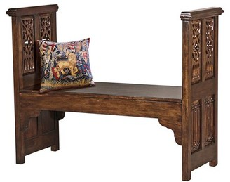 Canterbury of New Zealand Design Toscano Abbey Gothic Bench
